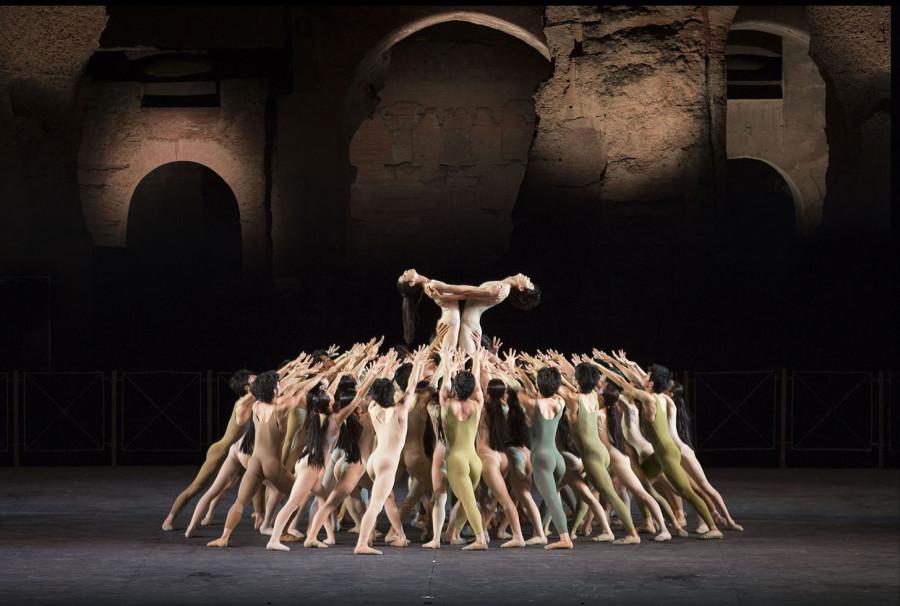 Tokyo Ballet, Le sacre du printemps, coreography Maurice Bejart, Roma Terme di Caracalla